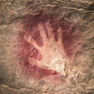 Chauvet cave handprint