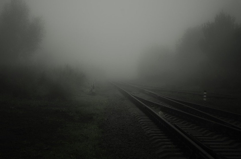 Tracks in Fog