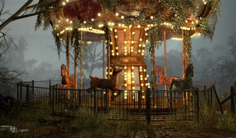 Abandoned Carrousel (lucas-sparks.com)
