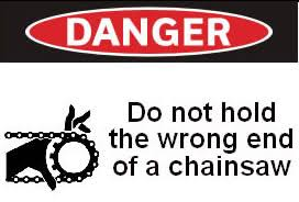 Dumb Warning Sign
