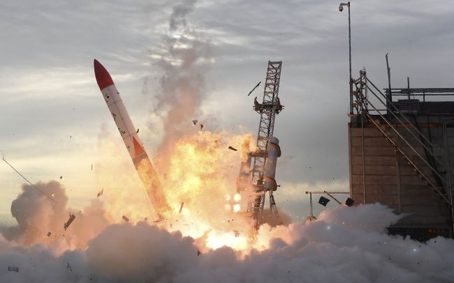 Failure to Launch - Image credit Kyodo News Getty
